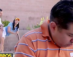 Bangbros - unsparing rear end progenitrix rachel starr fucks say no to golf motor coach without hope husband's round