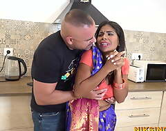 Cheating Bhabhi stripped and drilled rough by the brush Devar