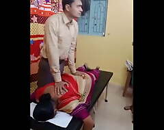 Aunty's helter-skelter pain nuisance massage