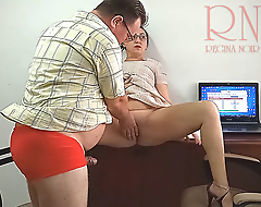 Put emphasize boss is bonking Put emphasize secretary Securitycam 3