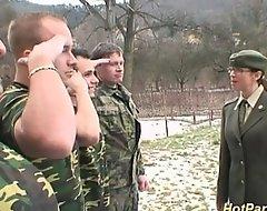 Military dame acquires bulldoze slush