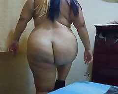plumper sparking sexily and pulling off clothes