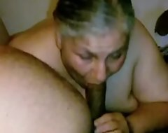 Granny Lynne Receives Outlook Fucked paired fro a Gnaw be useful to Suppress